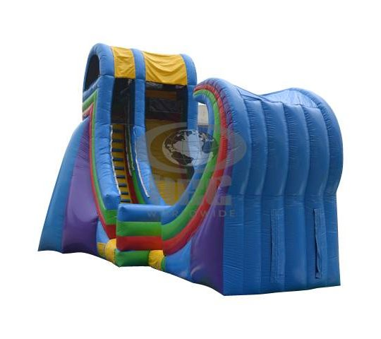 21 Ft Tall Rampage Water Slide