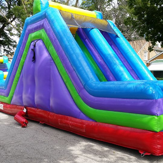 75 Ft Obstacle Course