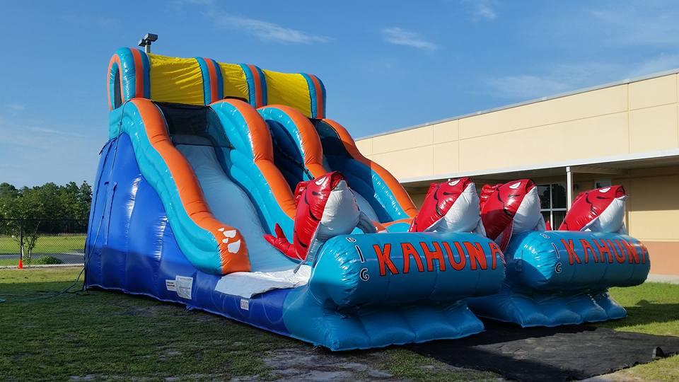 Double big Kahuna-Water Slide Rental Orlando - Merry Minstrels