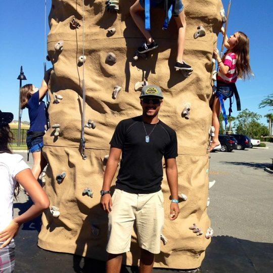 Portable Rock Climbing Wall