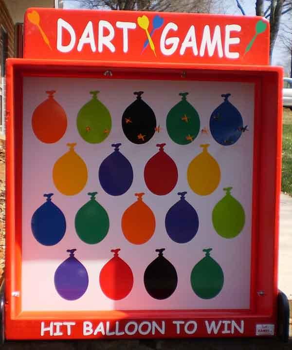 Magnetic Balloon Dart Game Carnival Game Rental Orlando Carnival Games