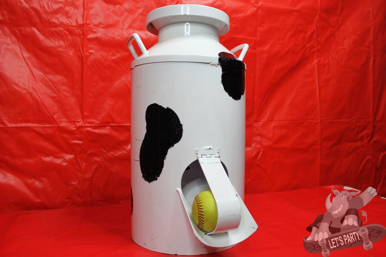 Milk Can Toss Category Carnival