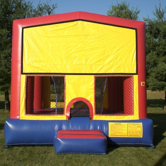 Train Themed Bounce House