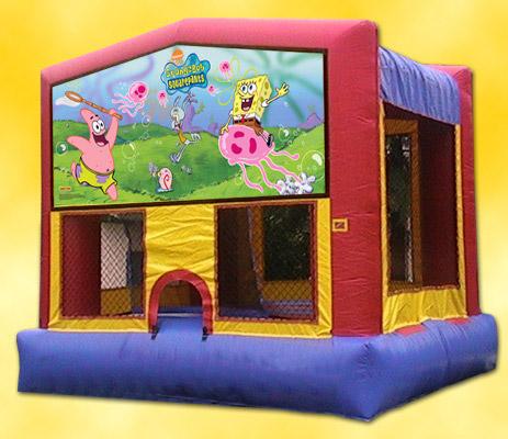 Sponge Bob Bounce House