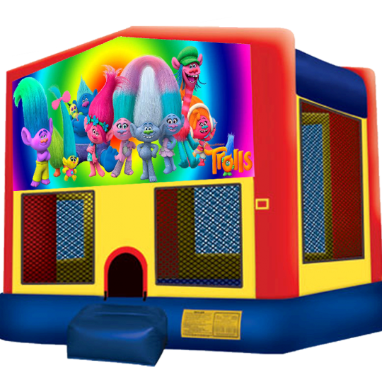 Trolls Bounce House